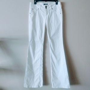 Hudson Women's White Pants Size 29 Vintage